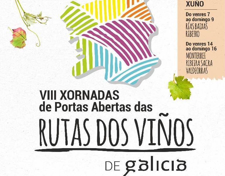 VIII Xornadas de portas abertas na ruta do viño do Ribeiro-ViñoBus 1 - Saída Ourense