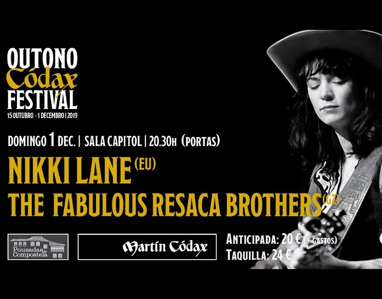 Outono Códax Festival 2019- Nikki Lane & The Fabulous Resaca Brothers