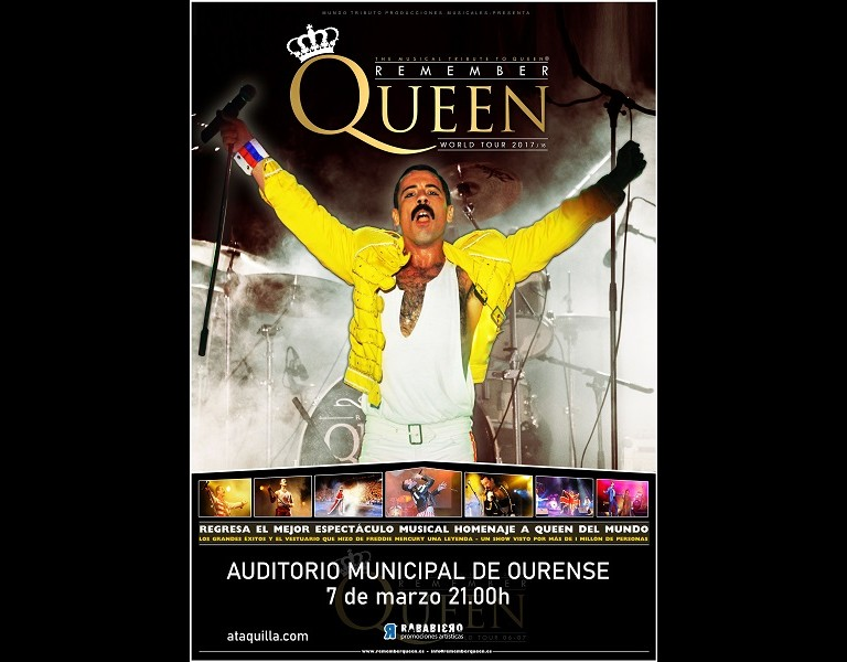Remember Queen World Tour 2020