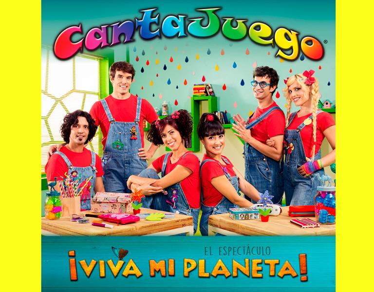 CANTAJUEGO, GIRA MI PLANETA - 2016