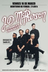 JD McPHERSON - Artista invitado: Charley Crockett (USA)