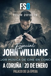 FSO TOUR 2018/19: ESPECIAL JOHN WILLIAMS. PROGRAMA I