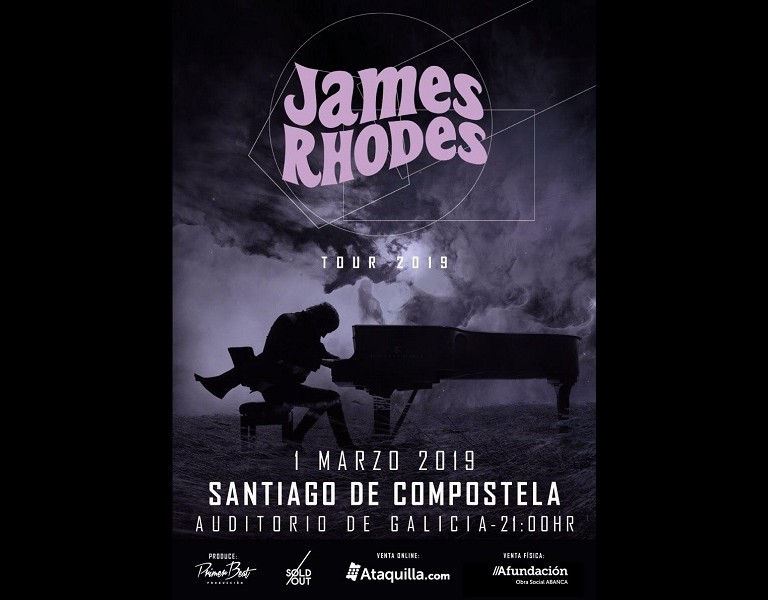 James Rhodes- Tour 2019