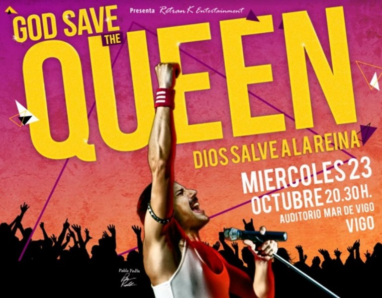 """God Save The Queen"" (Dios Salve a la Reina) -20th Century Fox - (Biopic) ""Bohemian Rhapsody"""