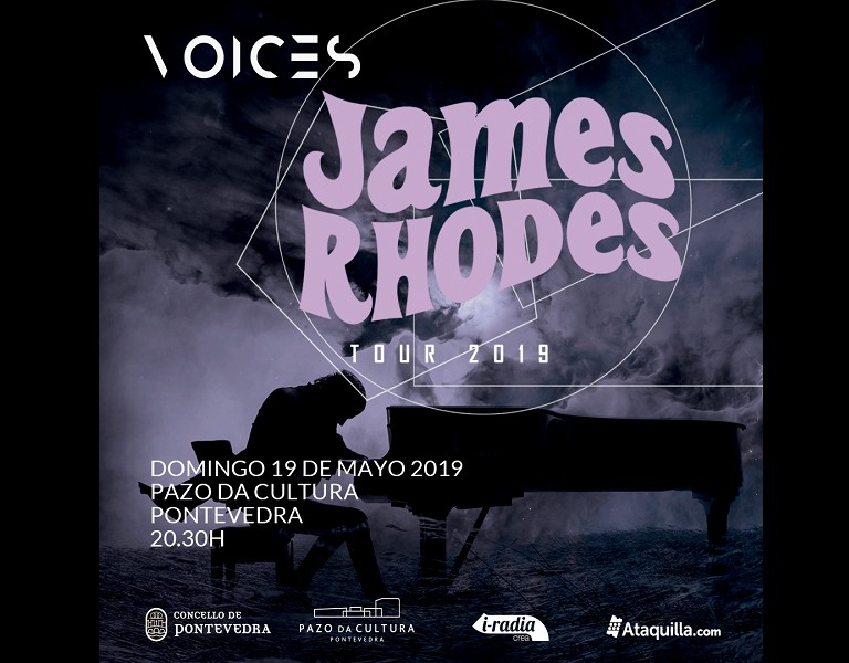 Ciclo Voices 2019 -  James Rhodes