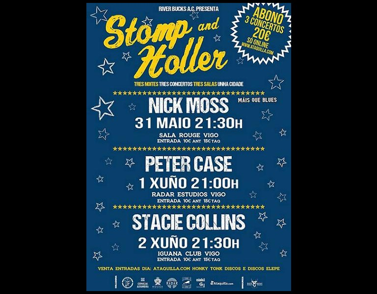 Stomp and Holler - Abono