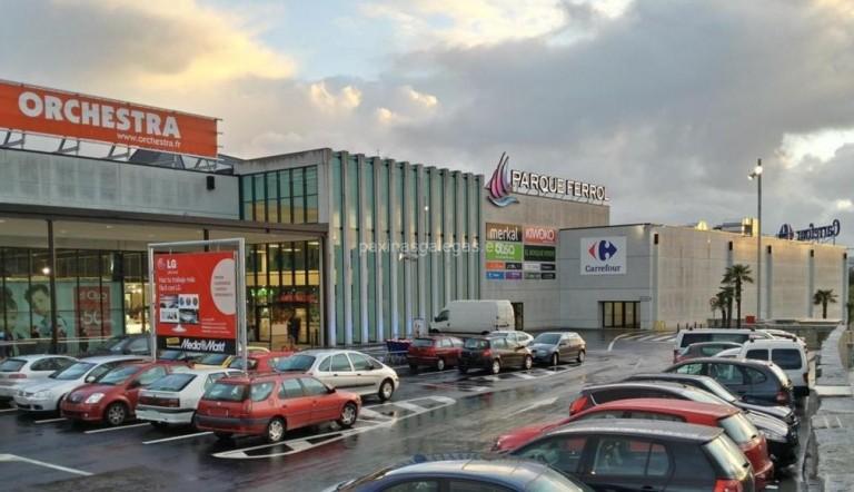 Carpa Centro Comercial Parque Ferrol