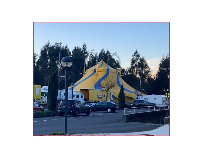 Parque Rego da Balsa. Carpa Circo Gottani