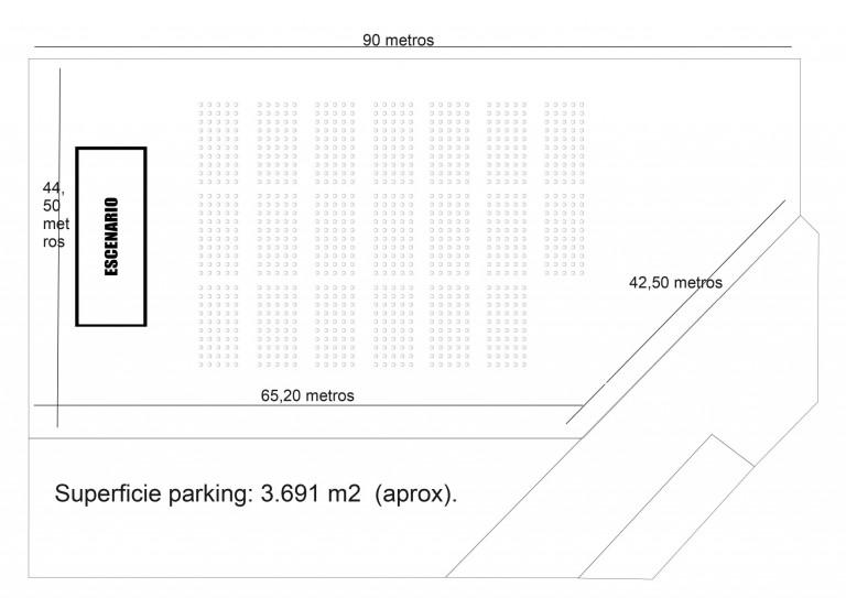 Parking Exterior Palacio de Congresos y Exposiciones