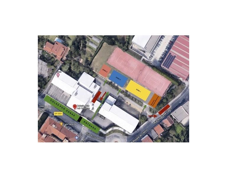 Exterior CEIP ADR Castelao