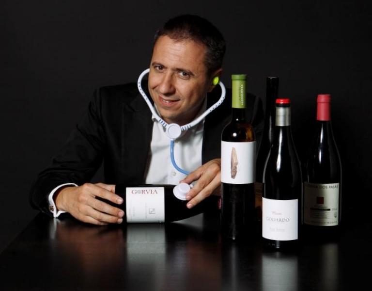 Aula de cata de vinos Afundación Vigo